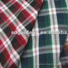 Poliéster barato / Algodão Material Embolsando e Shirting TC Tecido da China
