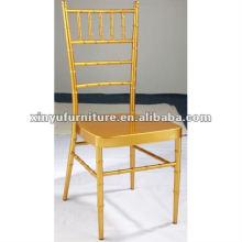 Золото chiavari стул для продажи XA3027