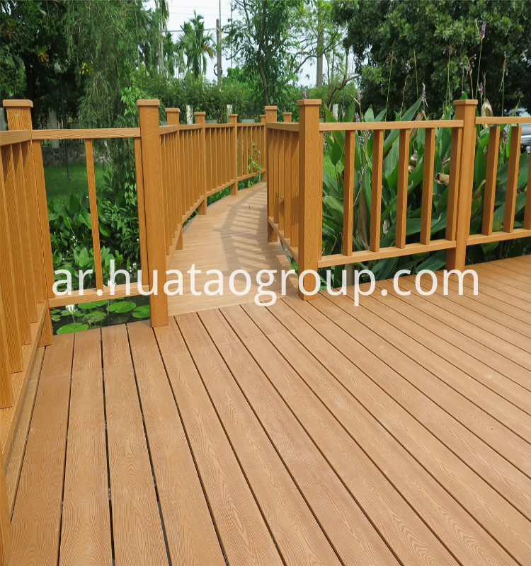 Ps Water Proof Outdoor Decking Baord Huatao