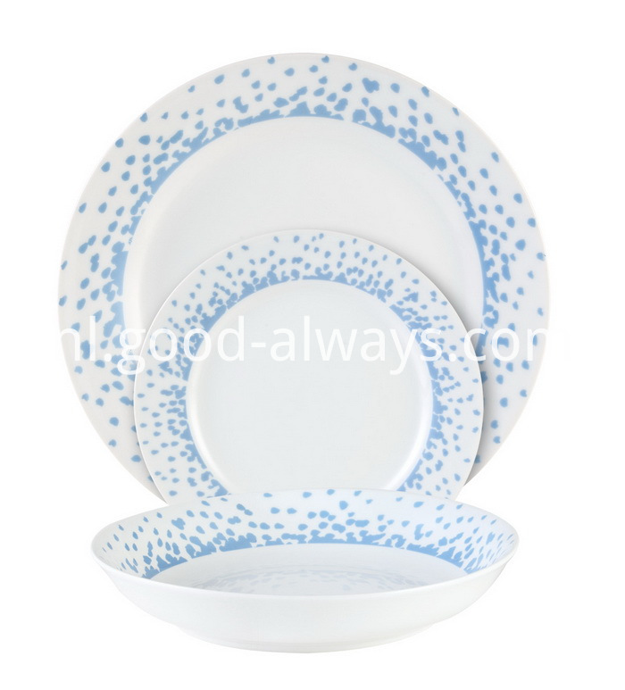 Coupe Porcelain Tableware Dinner Set
