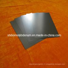 99,95% de plaques de tungstène pur pour four à haute température