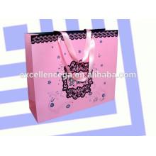 Saco de embalagem de papel de luxo