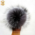 Handmade Top Quality 12cm Pom Poms Fluffy Fur Atacado Genuine Fox Fur Ball