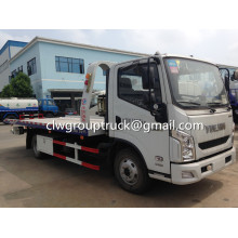 Yuejin Flat Two-in-one Road Wrecker Truck