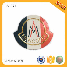 LB371 Pu-Leder-Logo-Etiketten für Jeans-Patch