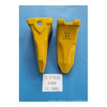 Dentes da caçamba da escavadeira Daewoo D200 D300 D360