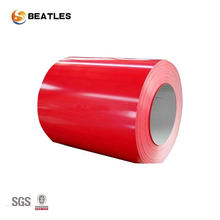 Hoja de metal revestida de color galvanizada hoja de color de aluminio prepintada de 0.5mm