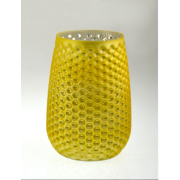Yellow Pineapple Candle Holder