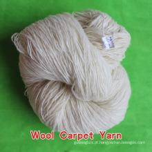 fios de tapete de lã para tricô