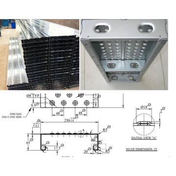 Scaffold catwalk panel / perancah decking roll membentuk mesin