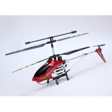 3.5CH Mitte Größe RC Metall Hubschrauber mit Gyro sprengen roten Farbe