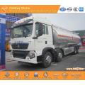 SINOTRUK HOWO 8x4 Fuel Tanker Truck Capacity 30000L
