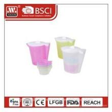 chaleira de água plástico 1,92 L com 4 xícaras (0,18 L)