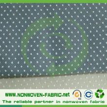 Tissu non-tissé antidérapant avec le POINT de PVC