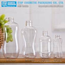 40ml 80ml 200ml und 300ml Lady Form schöne und sanfte Kurve guter Qualität heiß-Verkauf breite Anwendung pet leere Flasche