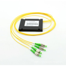 Acoplador de fibra óptica del casete de FT del casete del ABS 1 * 3