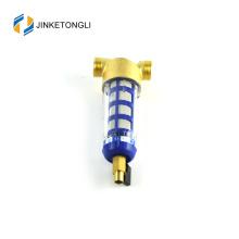 boîtier de filtre à eau en acier inoxydable grand bleu