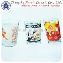 Vidrio de té turco / Vidrios de té marroquíes Venta al por mayor / Vidrio Copa de vidrio / Tumbler de vidrio por las máquinas de impresión