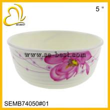 Unbreakable plastic melamine cereal bowls