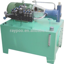 Hydraulic system is applied to the brick making machinery