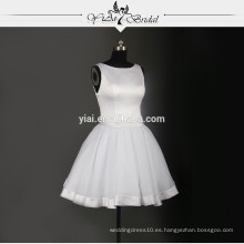 RSW741Sexy corto mini falda blanca vestidos de boda de África