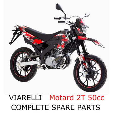 Viarelli Motard 2 skok 50cc Dirt Bike Part
