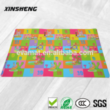 cartoon big size living room baby protecting mats