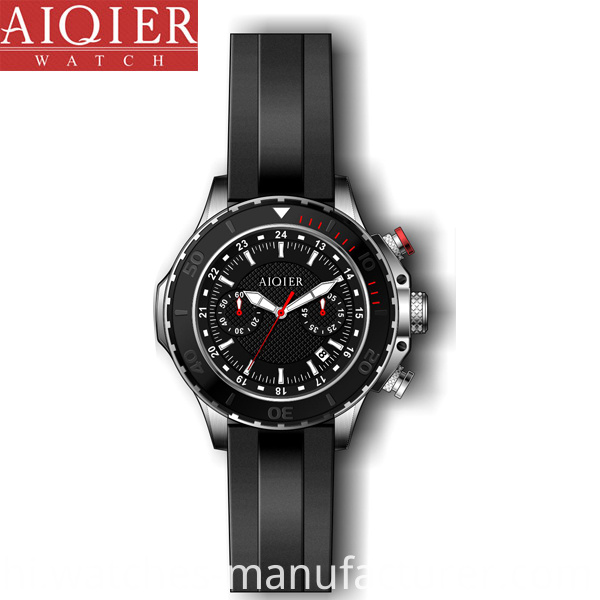 Man Waterproof Sports Watch