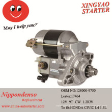 Motor de arranque del coche para caber para Honda Civic 1992-1995 (128000-9750)