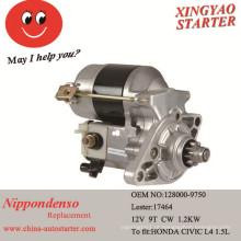 Motor de arranque do carro para caber para Honda Civic 1992-1995 (128000-9750)