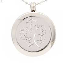 Luck four leaf clover coin pendants,coin pendants for necklaces