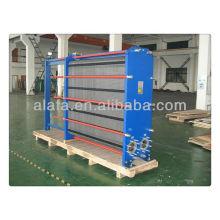 Échangeur à plaques pour le modèle JQ10B, transfert de chaleur haute efficacité, costume de grand débit, fabrication d'échangeur de chaleur