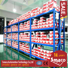 Light Duty Longspan Shelving Slotted Angle Type For Small Products Storage