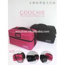 Goochie Marca profissional grande armazenamento permanente maquiagem kit
