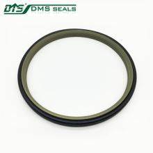 hydraulic head ptfe wiper seal with nbr o ring