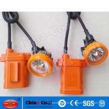 KL2.5LM, KL4LM, KL5LM Mineiros Lâmpada Mineração LED Cabeça Cap Lamp