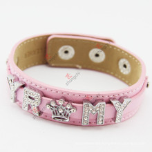 18mm Leather Bracelet Genuine Leather Wristband for Women