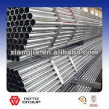 Tube en acier galvanisé par pré / a galvanisé le tuyau galvanisé pour la barrière / clôture / bâtiment / Contruction