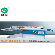 Sierra de mesa deslizante de fácil operación de alta precisión / sierra de mesa deslizante de madera