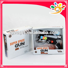 Fashion gun,space gun toys with light and sound for sale
