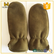 Externes Nähen Upscale Imported Leder Shearlining Handschuhe Bunt