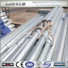 schedule 20 galvanized pipe