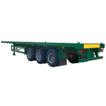 Fuwa Axles 12 Container Locker Flatbed Semitrailer