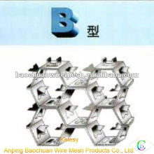 Stainless steel wire 316L B type thermostable Tortoise Shell Mesh(Factory)