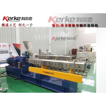 KTE-85B high capacity two stage pelletizing extruder