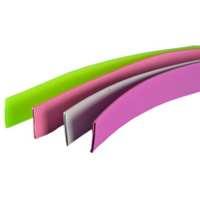 Beständig gegen Mildew und Rought PVC-beschichtetes Gurtband aus Kunststoff Vinyl-beschichtetes Gurtband