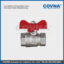 T Handle Plating Full Port Brass 4inch Ball Valves