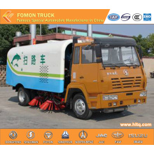 Shacman 4x2 Vacuum Road Sweeper Truck