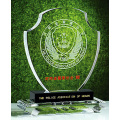 Customized Design Crystal Glass Trophy Award for Promotional Gifts