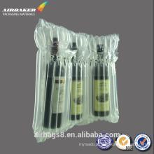 vermelho vinho inflável embalagens Air Bag Bolsa coxim protetor à prova de choque